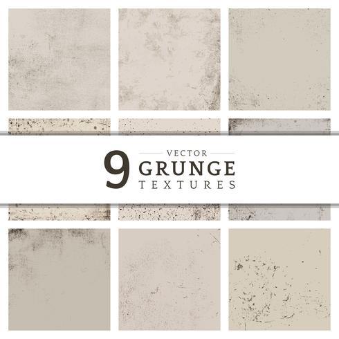 Colección de textura angustiada grunge beige