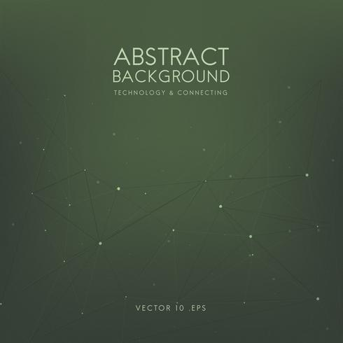 Abstract background for technology in green