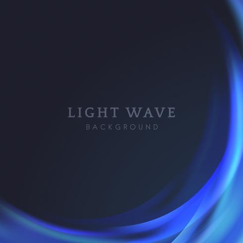 Fondo de borde de onda de luz
