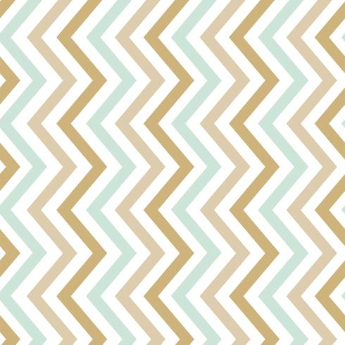 Pastel seamless zigzag pattern vector