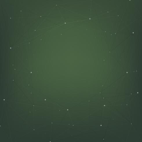 Abstract background design with stars on green