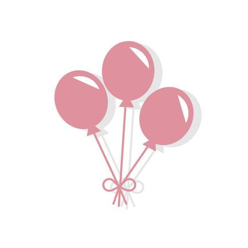 Party ballonger Alla hjärtans dag ikon
