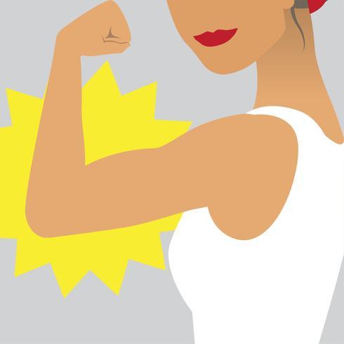 Cartel feminista mujer