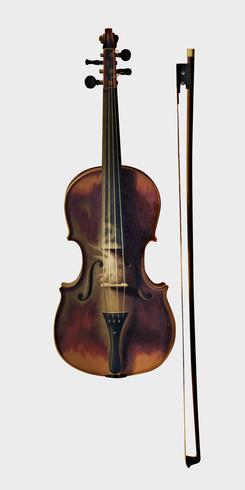 Stilleben med violin av William Harnett (1848-1892). Original från Library of Congress. Digitalt förbättrad av rawpixel.