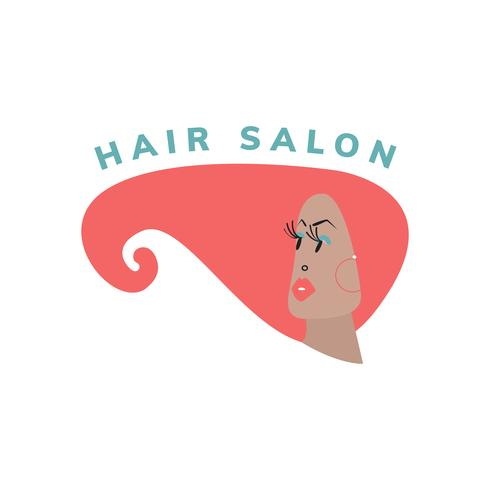 Beauty- und Friseursalon-Symbol