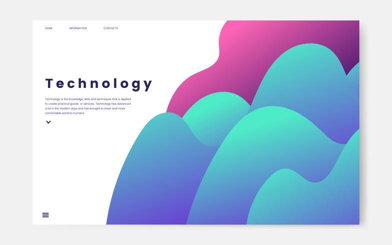 Site Web d'information graphique et technologique
