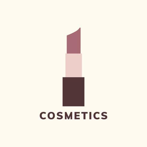 Kosmetik och smink ikon vektor