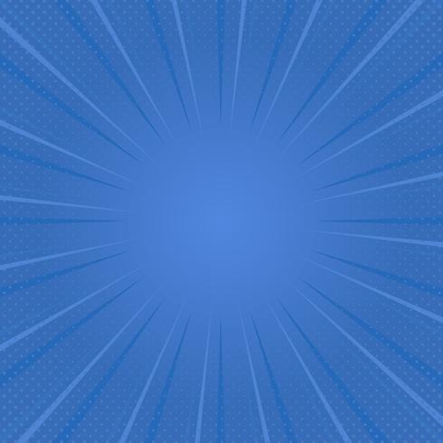 Gradient halftone in blue
