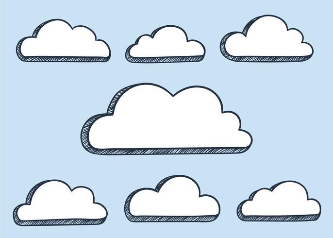 Wolken illustratie