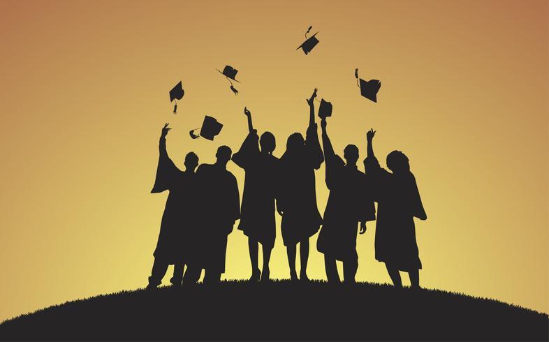 Abbildung von Hochschulabsolventen