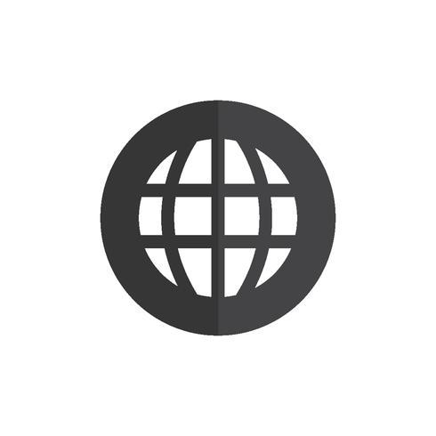 Illustrazione dell'icona di connessione globale