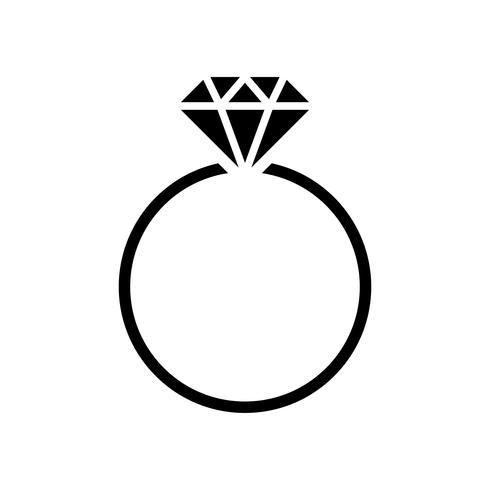 Diamant-Ehering-Grafikillustration