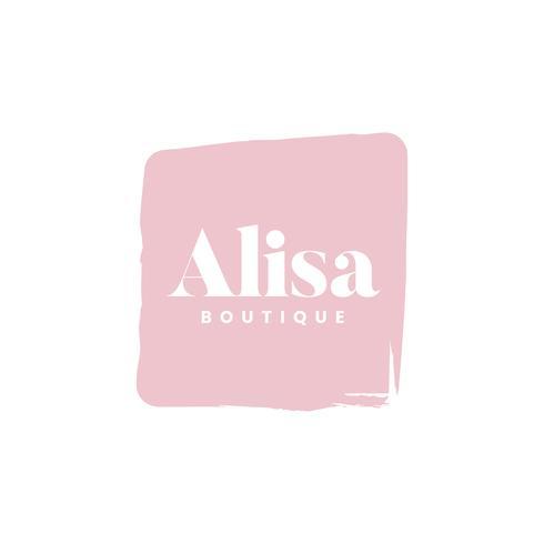 Alisa-Boutique-Logo-Branding-Vektor