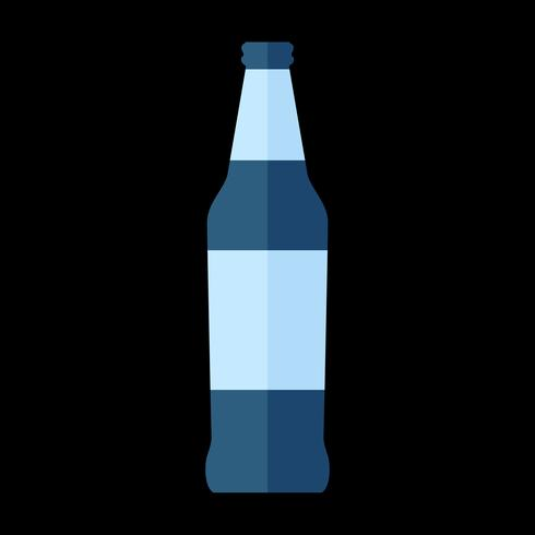 Ilustración simple de una bebida embotellada