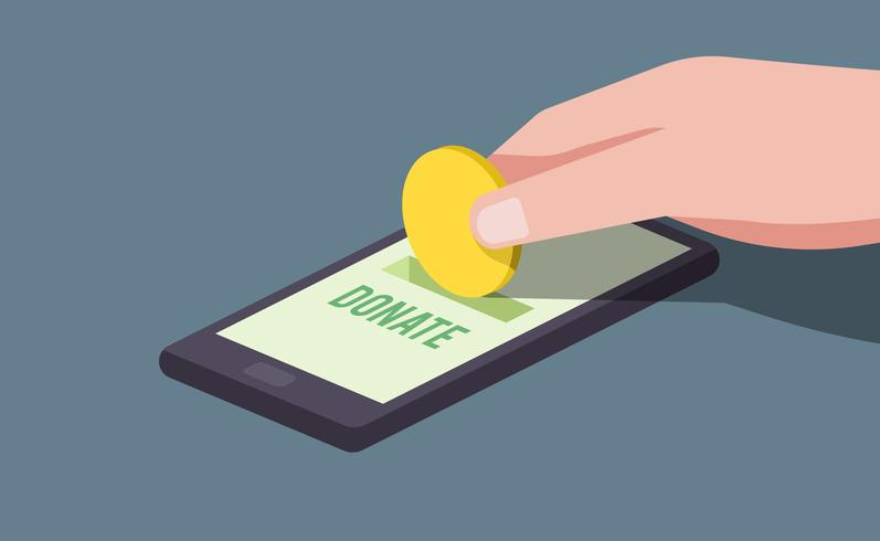 Digitale gelddonaties