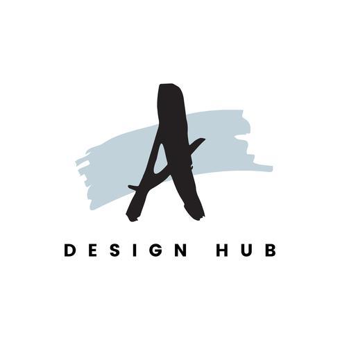 A design hub logo vector
