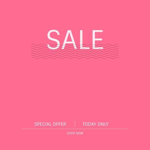 Sale special offer promotion sign vector