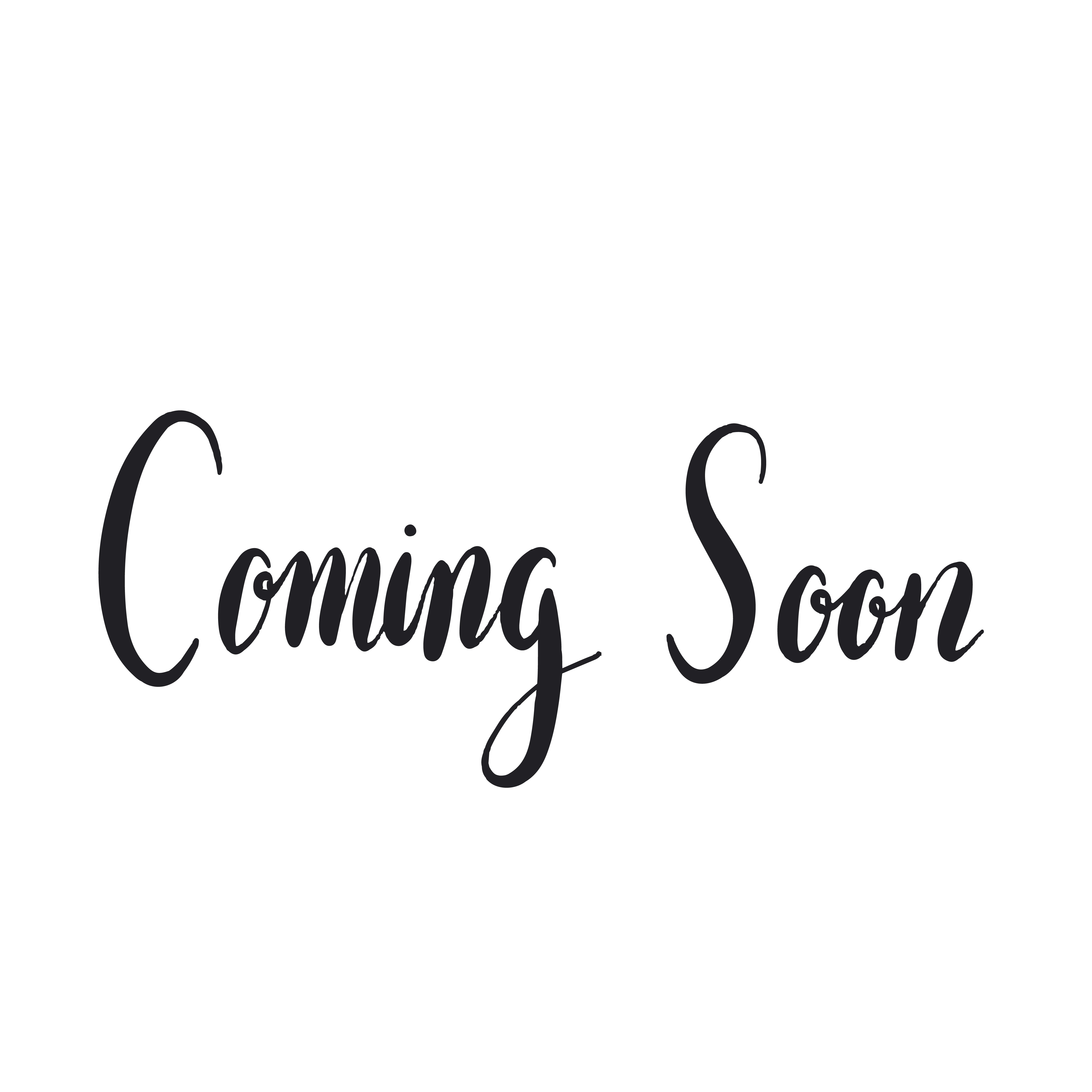 Coming Soon Typography Style Vector Download Free