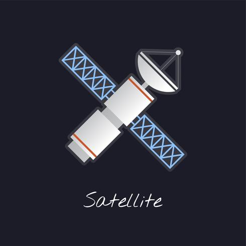 Satellitvektor