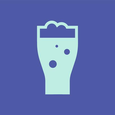 Pinta di birra grafica illustrazione