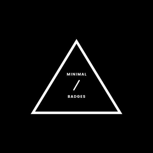 Minimalistischer Stil und Logo