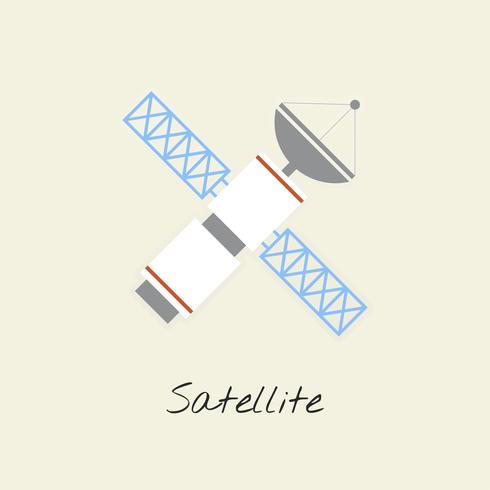Vector de satélite