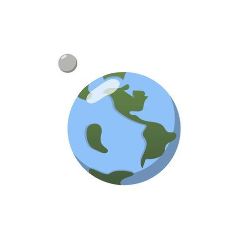 Linda ilustración de un planeta