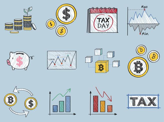 Financiering en financiële prestaties concept illustratie