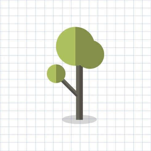 Illustration d'un arbre géométrique