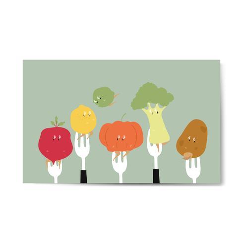 Comer verduras saludables