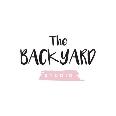Le vecteur de logo de studio de jardin