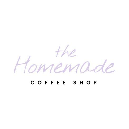 Le vecteur de logo de café fait maison