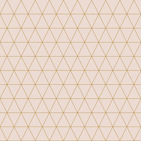 Illustrazione vettoriale semplice modello triangolare