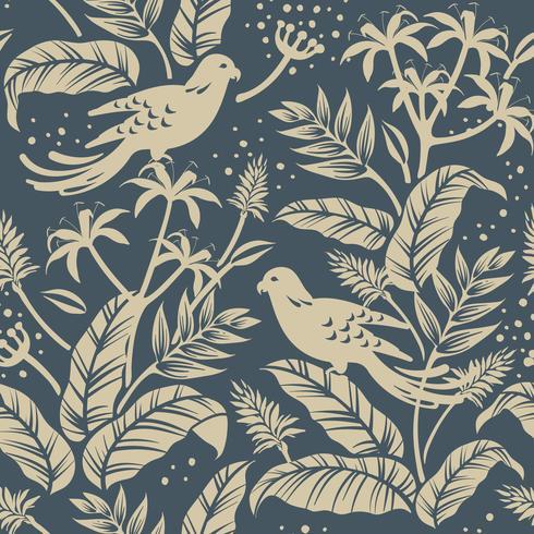 Vögel im Naturdesign