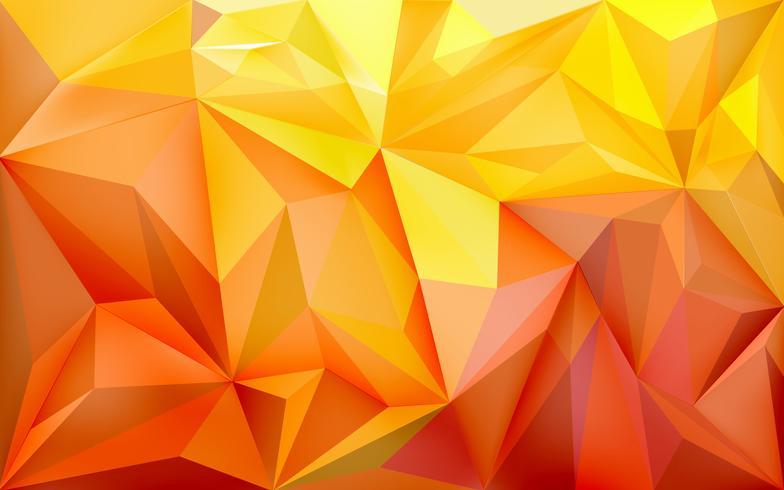 Bakgrundsbild med polygoner i lutningsfärger