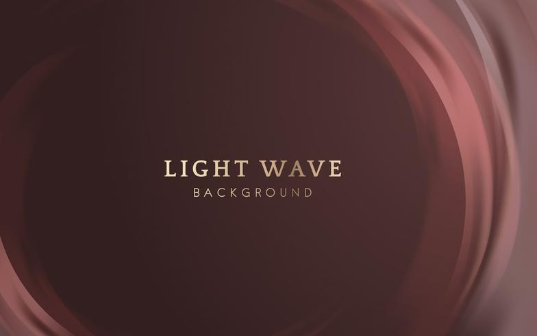 Fundo de fronteira de onda de luz
