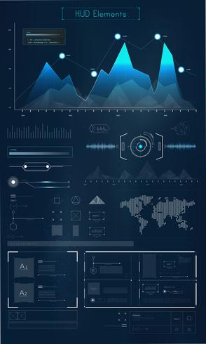 Web design and programming interface vector