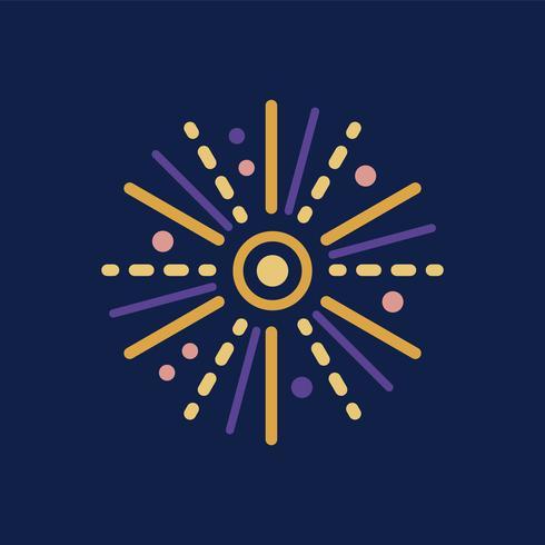 Fyrverkeri Ikon Celebration Event Concept
