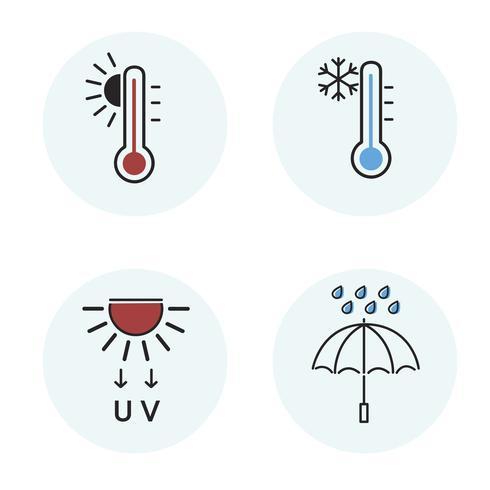 Abbildung der Wetterikone