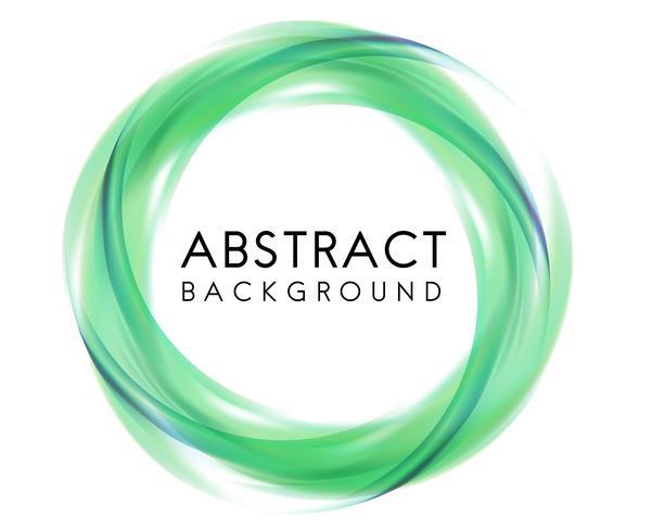 Diseño de fondo abstracto en verde