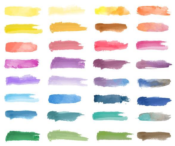 Vettore di sfondo colorato toppa acquerello