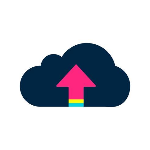Illustrazione dell'icona nuvola