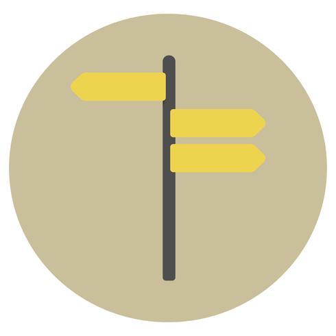 Illustration du vecteur signe vierge