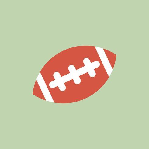 Illustratie van Amerikaans voetbalpictogram