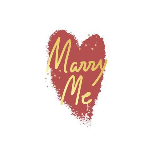 Lief valentijnskaart bericht typografie ontwerp
