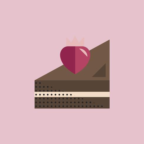 Concetto dell'icona di giorno di San Valentino