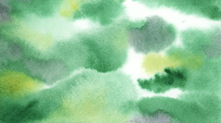 Struttura astratta della macchia dell'acquerello verde