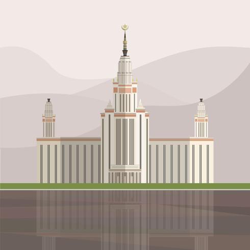 Ilustración del palacio triunfo