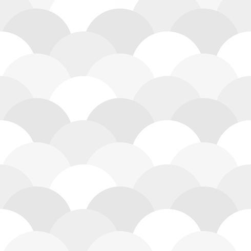 Seamless mönster av halvcirklar