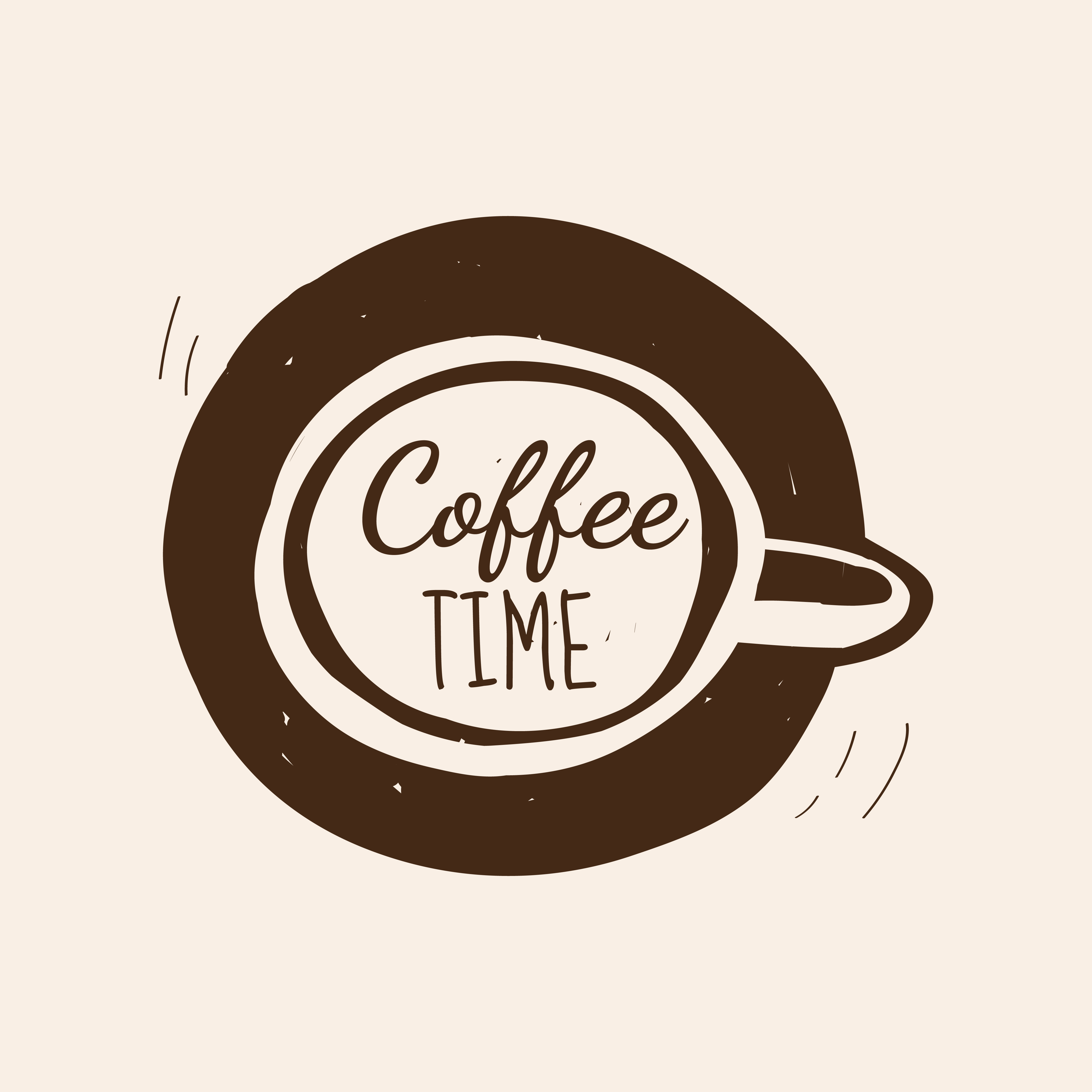 Coffee time cafe logo vector - Download Free Vectors ...